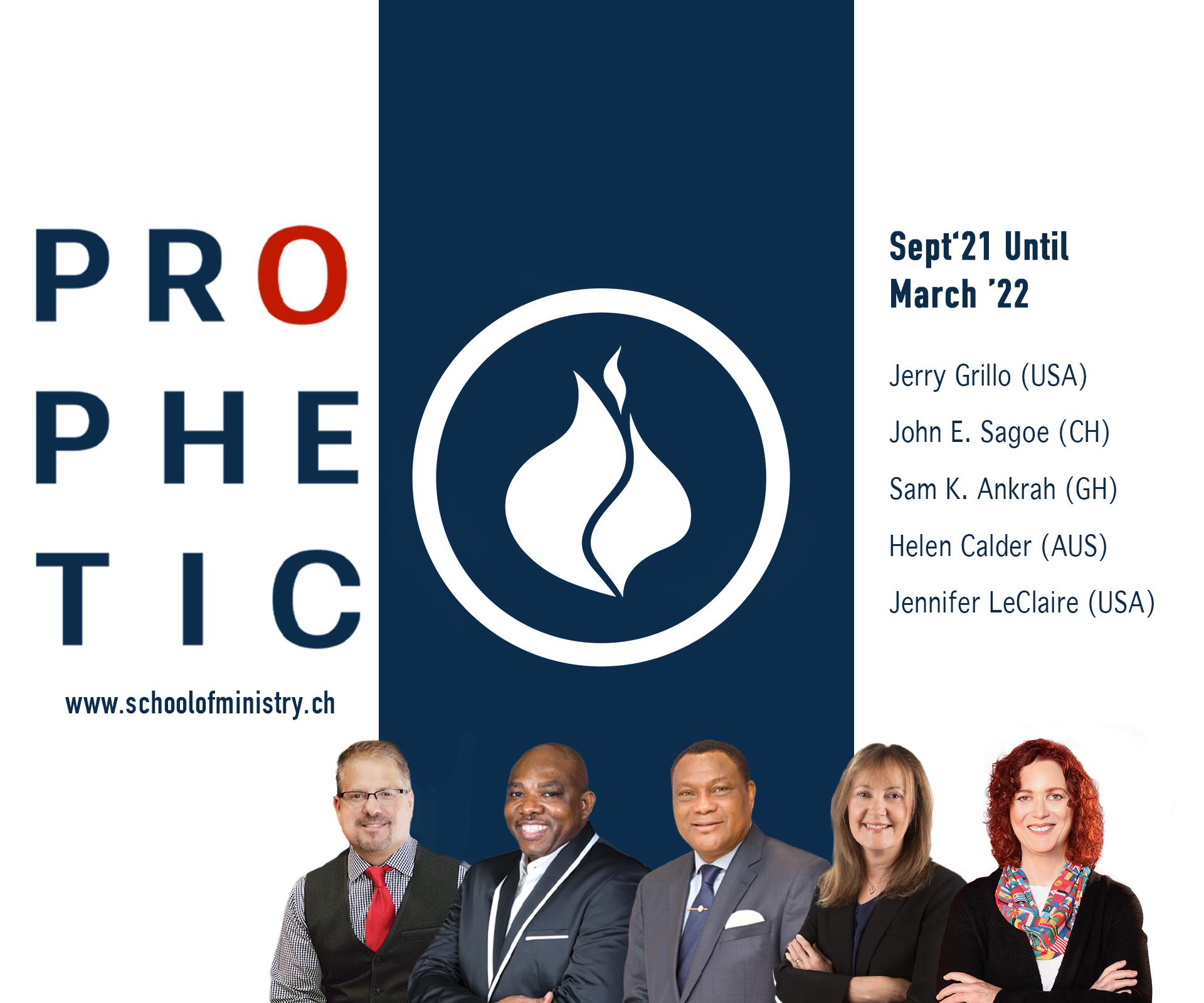 Prophetic School of Ministry 21/22