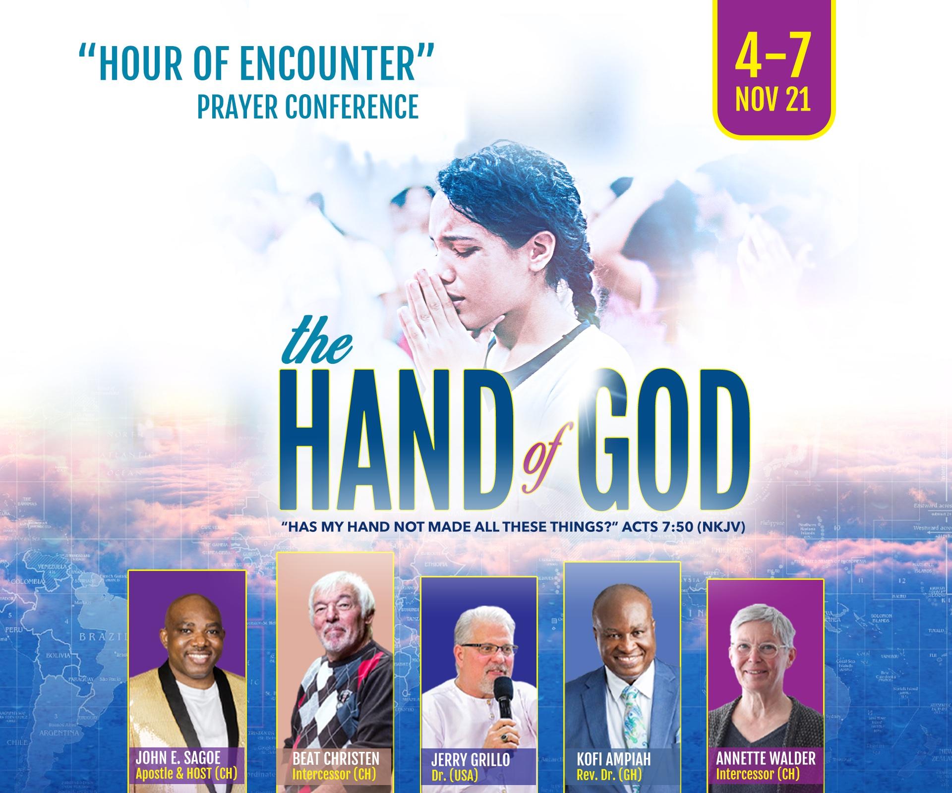 Hour Of Encounter Prayer Conferencedraft
