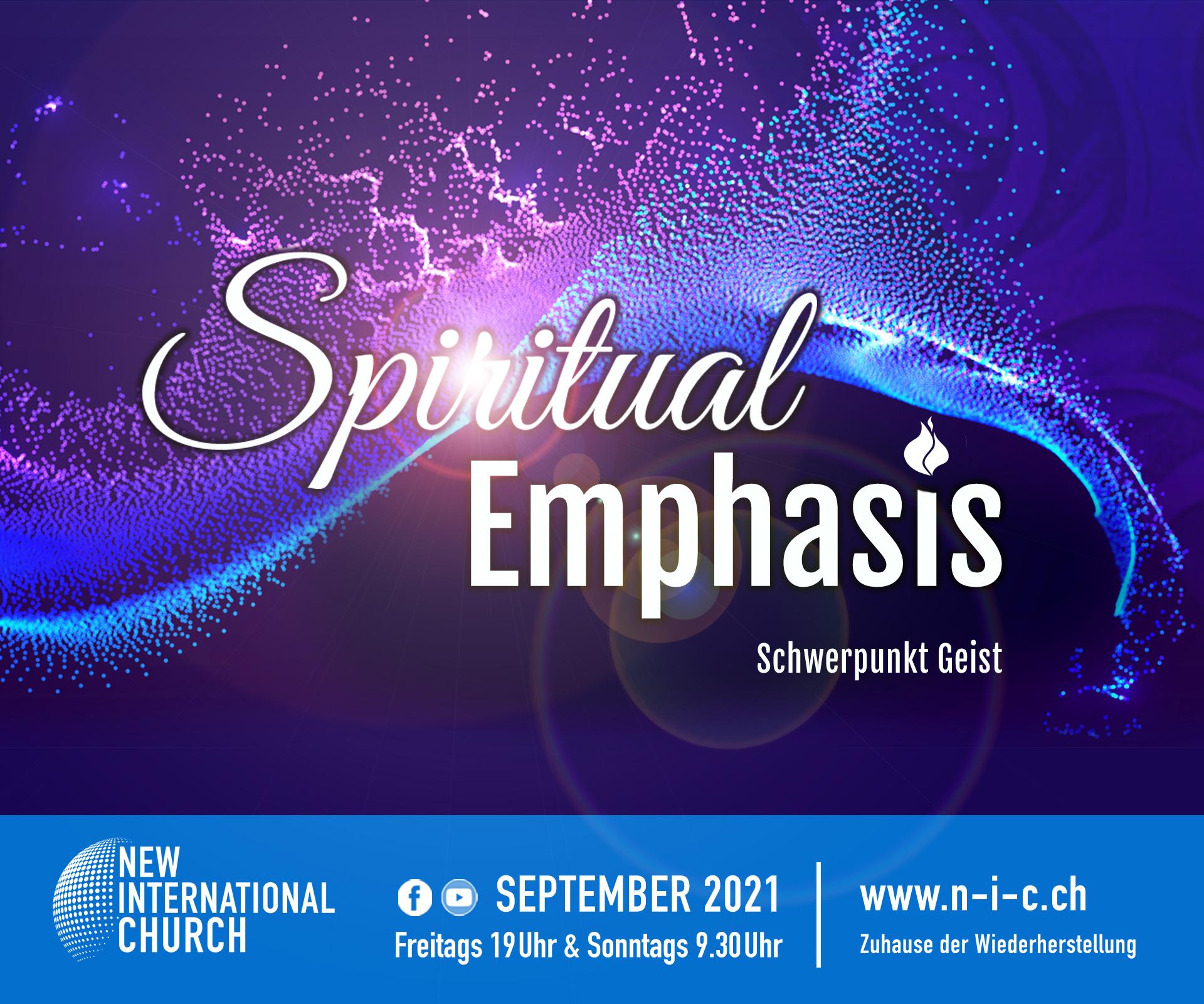 Prophetischer Fokus September