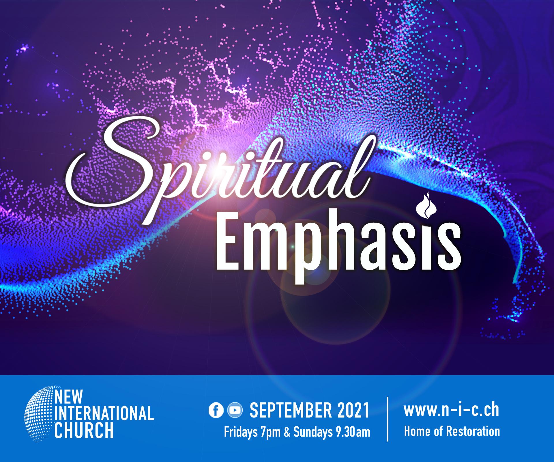 Prophetic Focus September